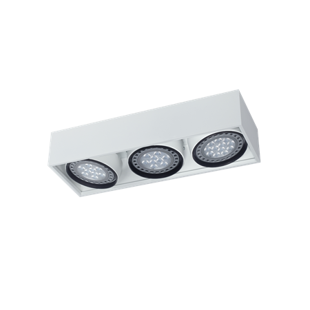 Box plafon de techo 3 luces Ar111 Led