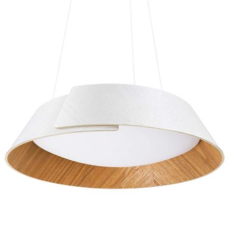 Colgante Philips Embrace Madera 3 intensidades Led