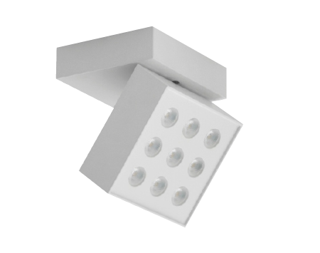 Kozmo aplique de pared cuadrado Led