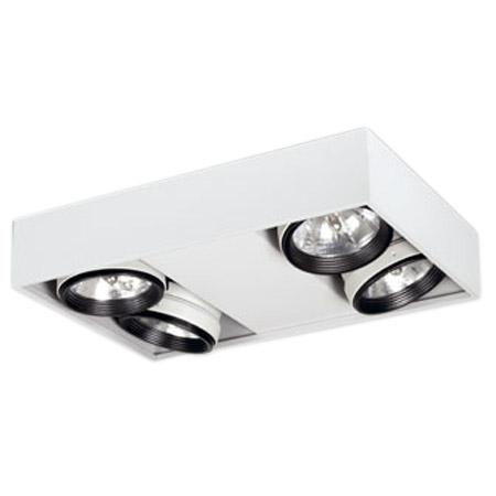 Compact plafón 4 luces - Griscan di