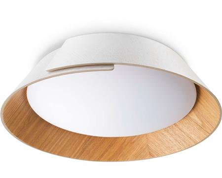 Plafon Philips Embrace Madera 3 intensidades Led